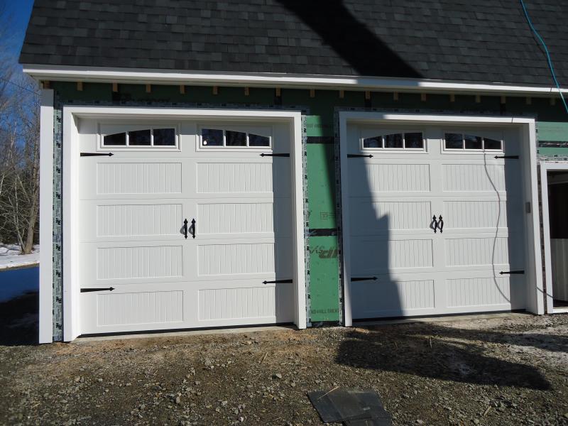 winsmor garage door installs custom garage doors on isleboro penbay pilot