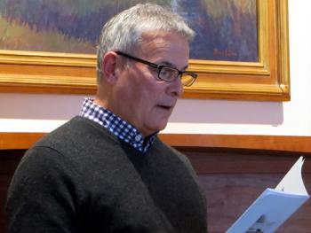 Paul Cavalli at Kathirn Seitz reading