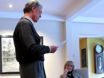 John Newburn at Kathirn Seitz reading