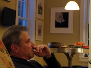 Joe Tassi at Kathirn Seitz reading